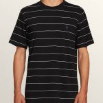 Volcom Joben Crew Short Sleeve Tee – Black – XL