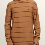 Volcom Randall Long Sleeve Hoodie – Old Gold – XL