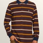 Volcom Gon James Long Sleeve Shirt – Bordeaux Brown – XXL