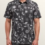 Volcom Broha Short Sleeve Shirt – Black – XS