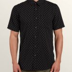 Volcom Dobler Short Sleeve Shirt – Black – XS