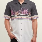Volcom Algar Short Sleeve Shirt – White Flash – M