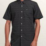 Volcom Frequency Dot Short Sleeve Shirt – Stealth – XXL
