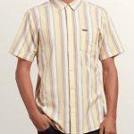 Volcom Multi Toner Short Sleeve Shirt – Acid Yellow – XXL