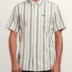 Volcom Multi Toner Short Sleeve Shirt – Sage – XXL