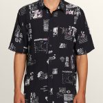 Volcom Speak To You Short Sleeve Shirt – Black – XS