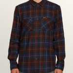 Volcom Lumberg Long Sleeve Flannel – Melindigo – XL