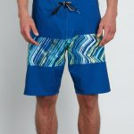 Volcom Macaw Mod Boardshorts – Camper Blue – Camper Blue – 36