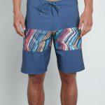 Volcom Macaw Mod Boardshorts – Deep Blue – Deep Blue – 32