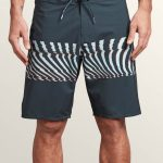 Volcom Macaw Mod Boardshorts – Midnight Blue – Midnight Blue – 34