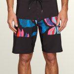 Volcom Macaw Mod Boardshorts – New Black – New Black – 36