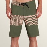 Volcom Macaw Faded Mod Boardshorts – Military – 34