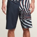 Volcom Lido Block Mod Boardshorts – Midnight Blue – 33