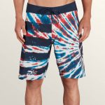 Volcom Peace Stone Mod Boardshorts – True Blue – 34