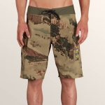Volcom Primo Beer Mod Boardshorts – Camouflage – 30
