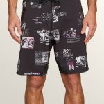 Volcom Speak To You Mod Boardshorts – Black – 30
