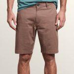Volcom Frickin Lightweight Shorts – Mushroom – Mushroom – 38