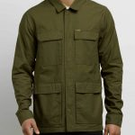 Volcom Academy Jacket – Seaweed Green – M