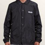 Volcom Brews Coach Jacket – Black – S
