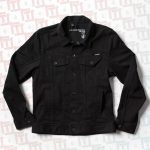 Volcom Run The Jewels Pistol Fist Denim Jacket – Black – M
