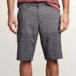 Volcom Frickin Surf N' Turf Mix Hybrid Shorts – Charcoal Heather – Charcoal Heather – 40