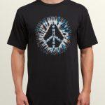 Volcom Peace Stone Short Sleeve Tee – Black – XL