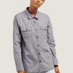 Volcom Street Dreaming Long Sleeve Flannel – Lavender – XS