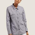 Volcom Street Dreaming Long Sleeve Flannel – Lavender – S
