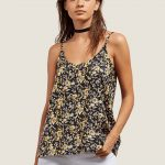Volcom You Want This Top – Citrus Gold – S