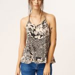 Volcom Oh Hey There Top – Mushroom – L