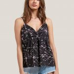 Volcom Things Change Cami – Black – L