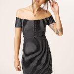 Volcom She Shore Dress – Black Combo – XS