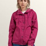 Volcom Enemy Stone Jacket – Paradise Pink – Paradise Purple – M
