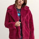 Volcom GMJ Ravey Fur Jacket – Acai – L