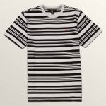 Volcom Big Boys Randall Crew Short Sleeve Tee – White – M