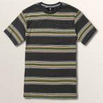 Volcom Big Boys Idle Crew Short Sleeve – Asphalt Black – S