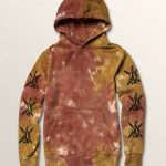 Volcom Big Boys Stone Years Pullover Hoodie – Multi – XL
