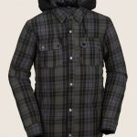 Volcom Field Insulated Flannel – Black – M