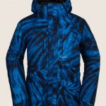 Volcom Fifty Fifty Insulated Jacket – Blue Tie-dye – L