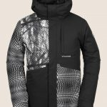 Volcom 17 Forty Insulated Jacket – Black White – XL