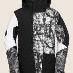 Volcom BL Stretch Gore-Tex Jacket – Black White – S