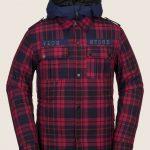 Volcom Creedle2Stone Jacket – Red – L