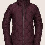 Volcom Skies Down Puff Jacket – Merlot – XL