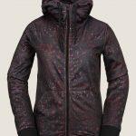 Volcom Cascara Fleece – Black Floral Print – XL
