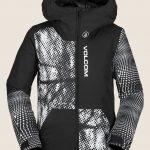 Volcom Vernon Insulated Jacket – Black White – XL