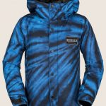 Volcom Ripley Insulated Jacket – Blue Tie-dye – L