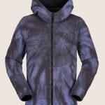Volcom Taghum Fleece – Blue Tie-dye – XS