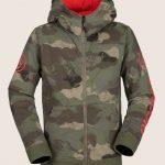 Volcom Taghum Fleece – Camouflage – M