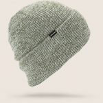 Volcom Heathers Beanie – Black Green – O/S