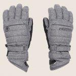 Volcom Peep Gore-Tex Glove – Heather Grey – L